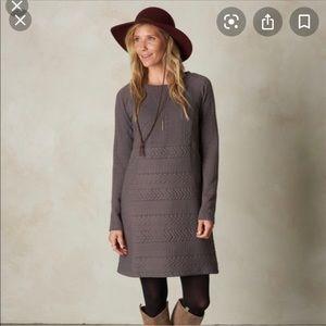 PrAna Macee Sweater Dress EUC